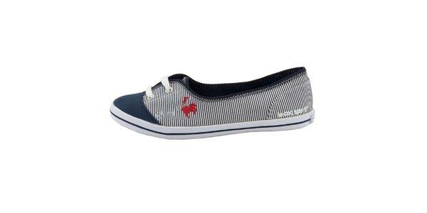 Dámske pruhované topánky Le Coq Sportif