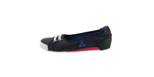 Dámske čierne topánky Le Coq Sportif