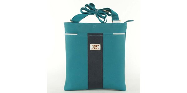 Dámska modrá kabelka Pierre Cardin