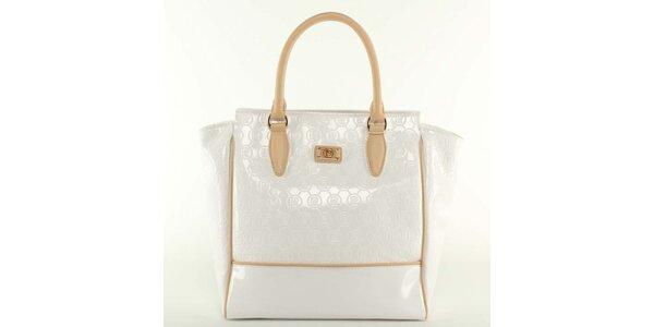 Dámska biela kabelka Pierre Cardin