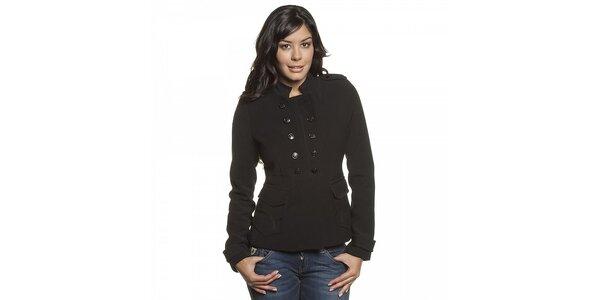 Dámsky čierny kabátik Lois