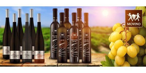 Kolekcie exkluzívnych vín od MOVINO