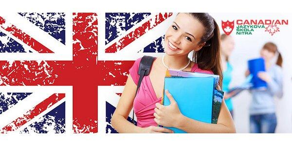 6 mesačný kurz angličtiny - predpredaj
