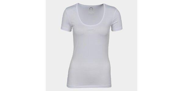Dámske biele tričko so značkou Sweep