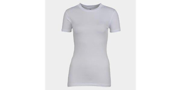 Dámske biele tričko s krátkym rukávom Sweep