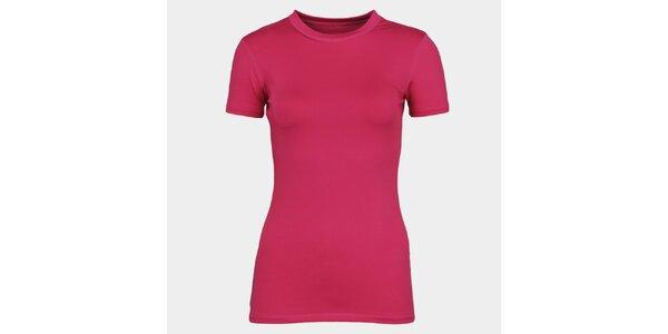 Dámske ružové tričko s krátkym rukávom Sweep