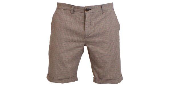 Pánske béžové šortky RNT23
