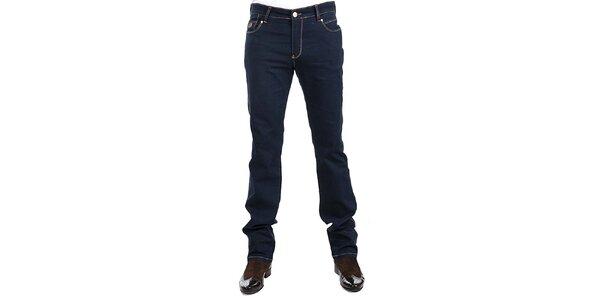 Pánske tmavo modré džínsy RNT23