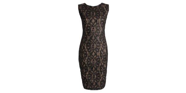 Dámske čierne šaty s flitrami CeMe London