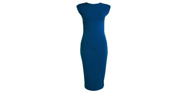 Dámske modré šaty s krátkym rukávom CeMe London
