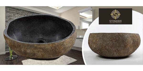 Štýlové kamenné umývadlo - ručne vyrábané