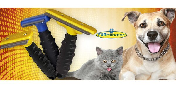 Hrebeň FURminátor pre psov a mačky