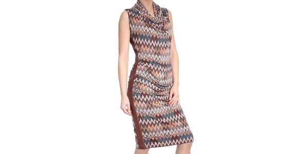 Dámske šaty so vzorom SforStyle