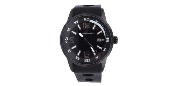 Pánske čierne hodinky Yves Bertelin