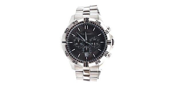 Pánske oceľové hodinky s chronografom Yves Bertelin