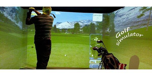 Indoor golfový simulátor Credos Sports Coach