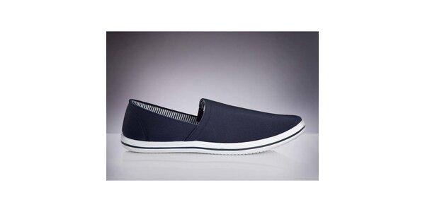 Pánske tmavo modré topánky DEK