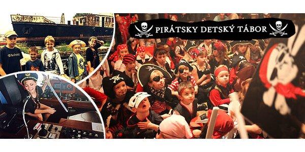Pirátsky alebo námornícky denný tábor