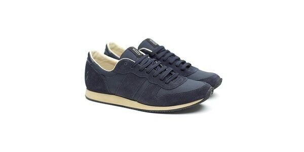 Pánske modré semišové tenisky Shoe the Bear