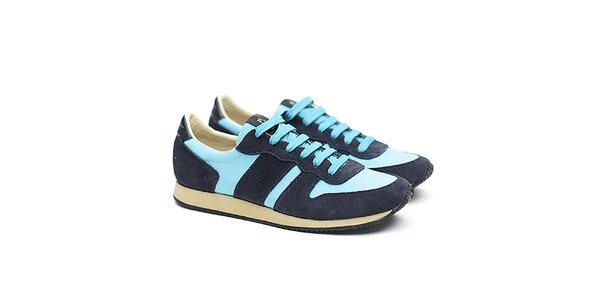 Dámske modro-tyrkysové športové tenisky Shoe the Bear