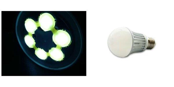 LED žiarovka so závitom E27 a spotrebou len 7W