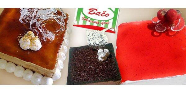 Sladká torta podľa výberu (1 kg)