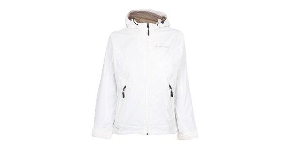 Dámska biela nepremokavá bunda Hannah