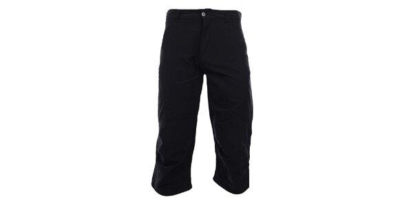 Pánske 3/4 antracitové funkčné nohavice Hannah