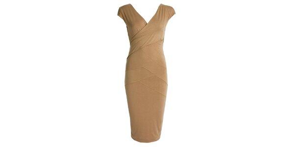 Dámske šaty so zavinovacím efektom JDC London