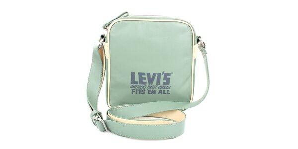 Dámska mentolovo zelená kabelka Levis