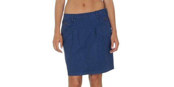 Dámska modrá sukňa Tommy Hilfiger