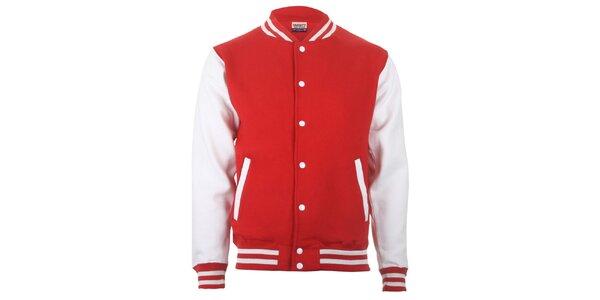 Červeno-biela bundička Varsity Team Players
