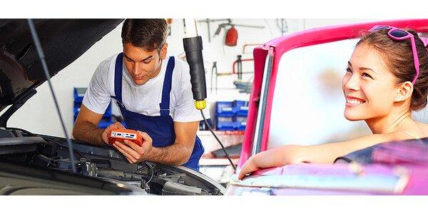 Emisná kontrola pre osobné motorové vozidlá do 3,5 t