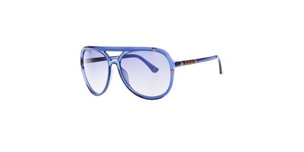 Dámske modré okuliare s pyramídkami Michael Kors