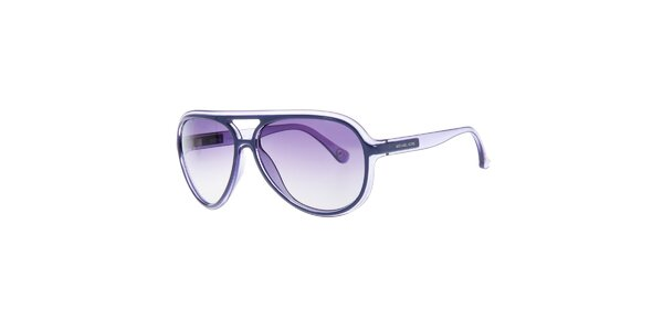 Dámske slnečné okuliare s fialovými sklami Michael Kors
