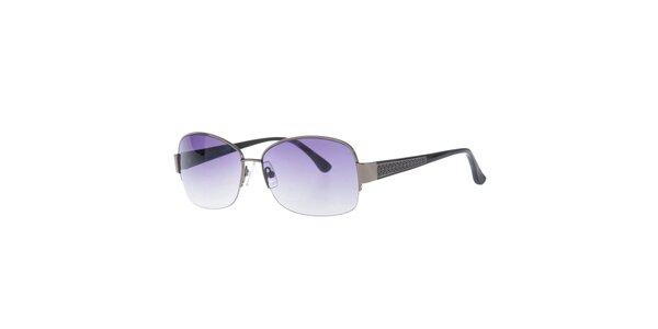 Dámske slnečné okuliare so vzorovanými stranicami Michael Kors