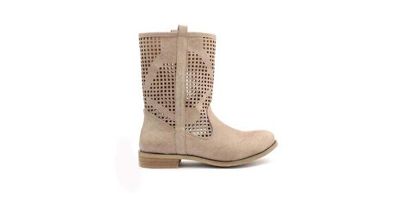 Dámske perforované nízke topánočky Trendy Too
