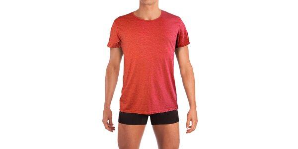 Pánske červené tričko Mosmann