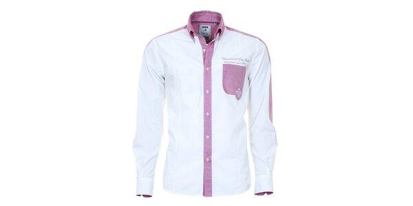 Pánska svetlo modrá košeľa Pontto