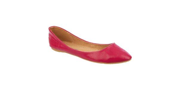 Dámske malinovo červené balerínky Betsy
