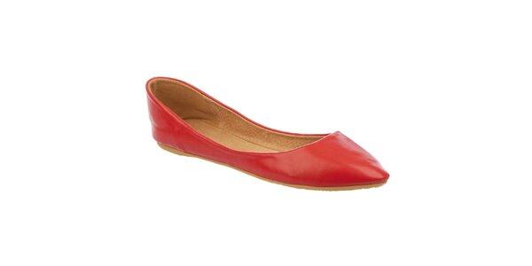 Dámske červené balerínky Betsy