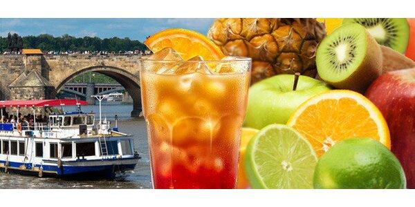 Plavba po Vltave s osviežujúcim občerstvením