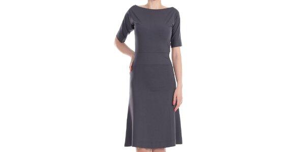 Dámske šedé šaty Yuliya Babich