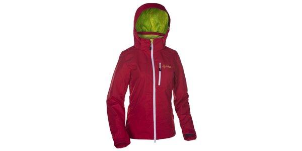 Dámska červená outdoorová bunda Kilpi