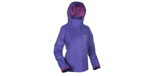 Dámska fialová outdoorová bunda s kapucňou Kilpi