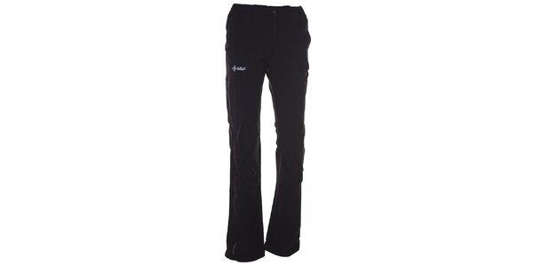 Dámske čierne softshellové nohavice Kilpi