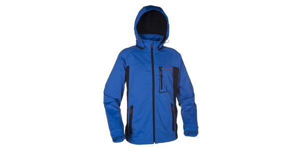 Pánska modrá softshellová bunda Kilpi