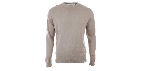 Pánsky béžový sveter Timeout