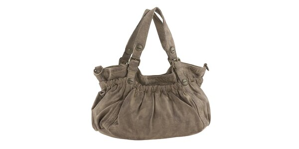 Dámska kabelka vo farbe taupe Amylee