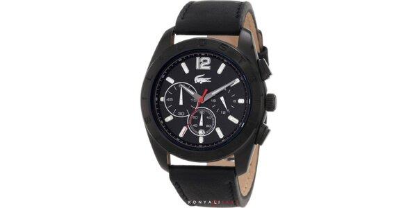 Pánske čierne hodinky Lacoste